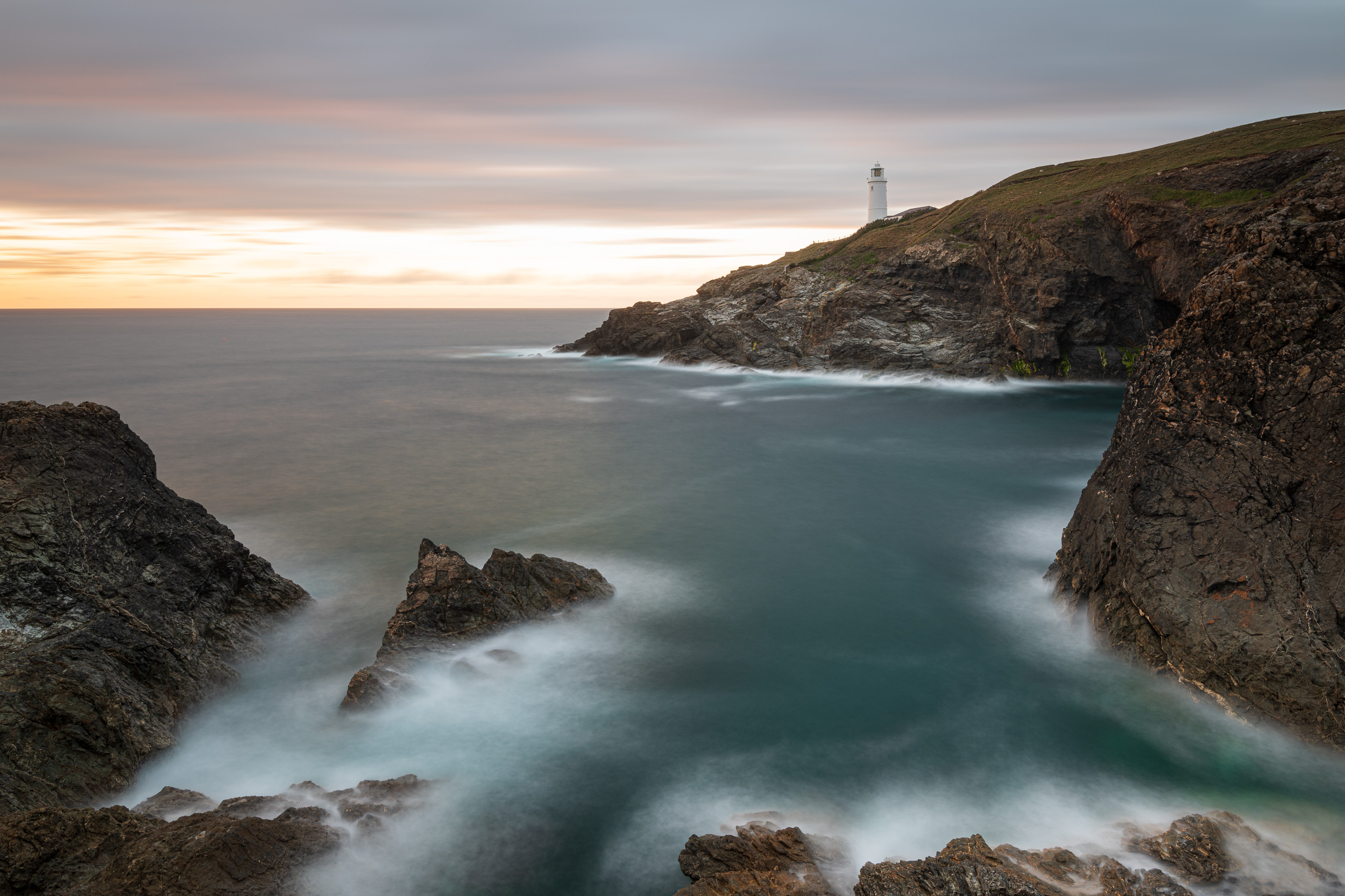 Tricky Trevose Head, Cornwall  - Nikon D850, Nikkor 16-35mm f/4 at 22mm, f/11, 90 seconds at ISO 64.