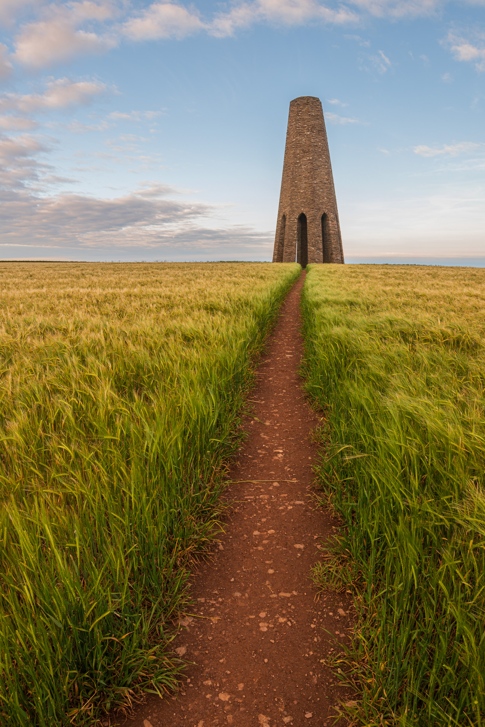 The Daymark Tower, Devon  - Nikon D850, Nikkor 16-35 mm f/4 at 16 mm, f/13, 1/5th sec at ISO 64, Kase CPL and ND grad.