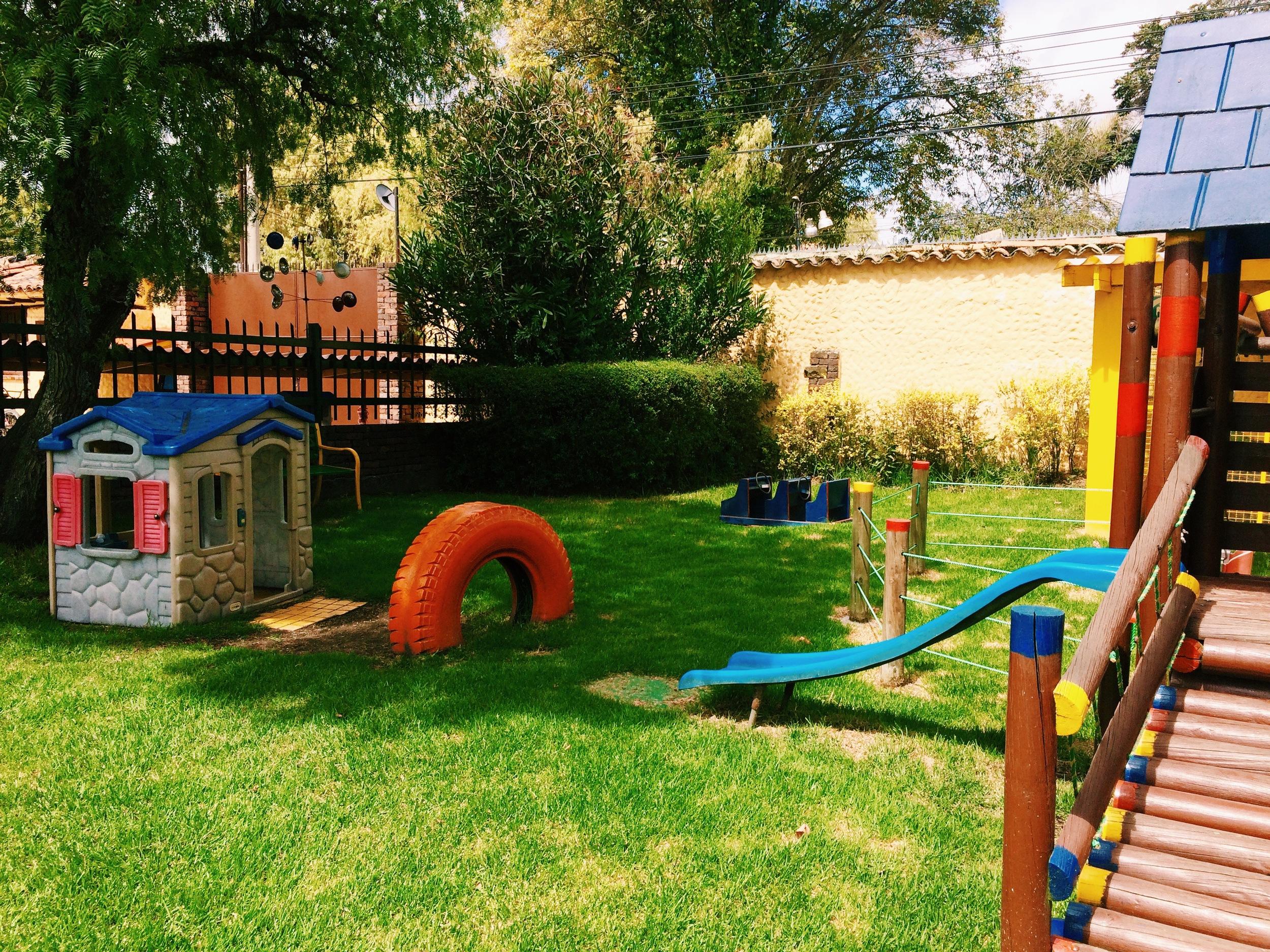 El parque de los pequeños