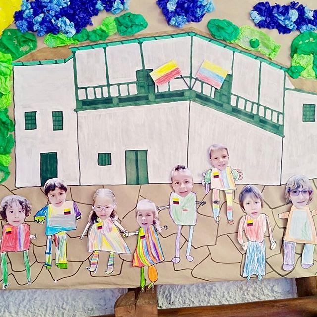 Proyecto del salón tigre sobre el bicentenario de Colombia. 🇨🇴