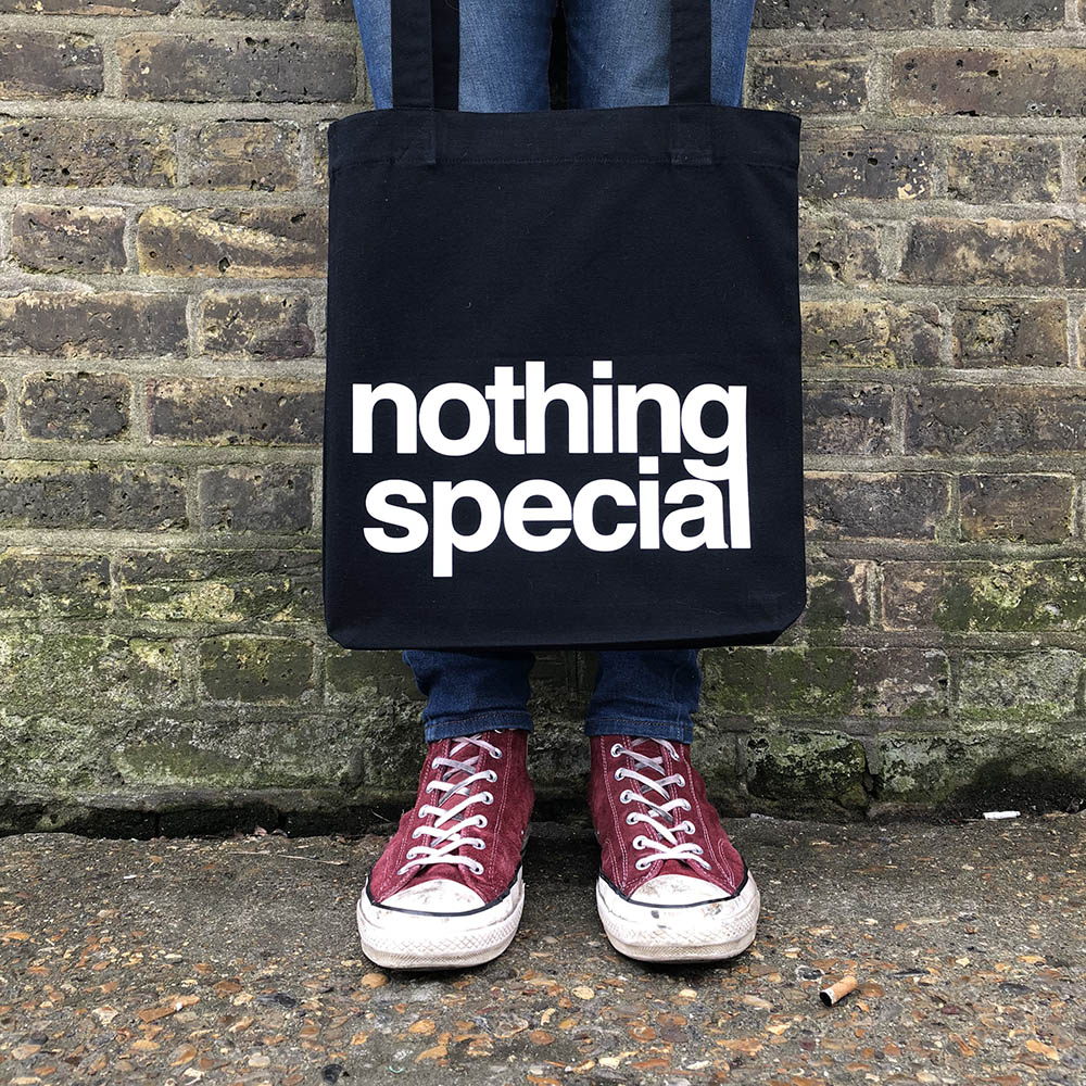 """Nothing Special"" tote bag"