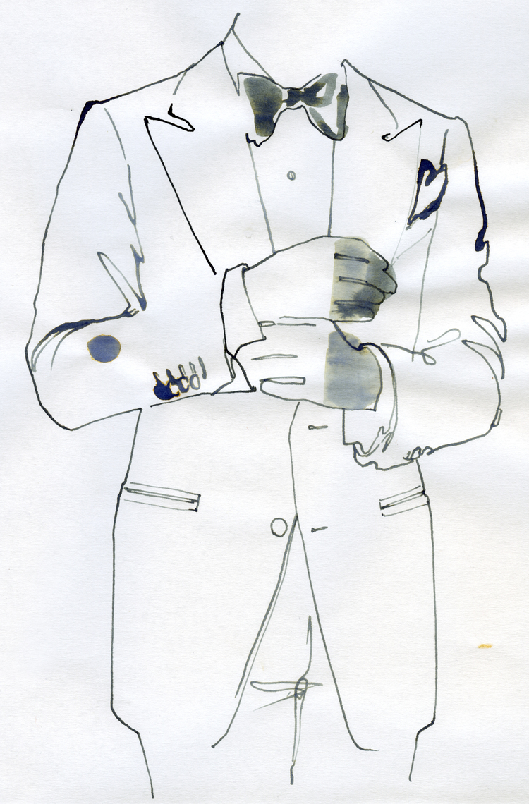 mens fashion illustration