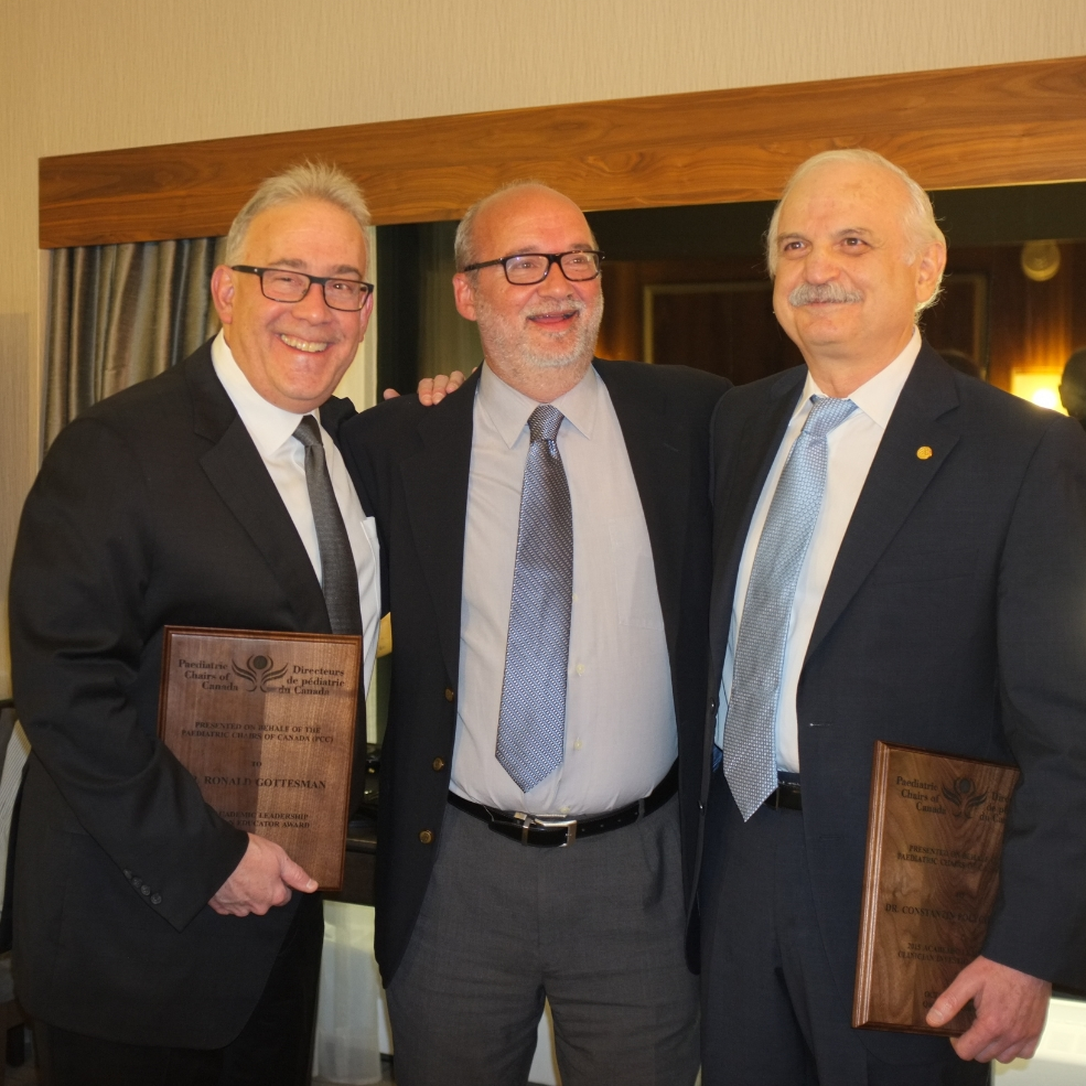 Dr. Ronald Gottesman, Dr. Michael Shevell and Dr. Constantin Polychronakos
