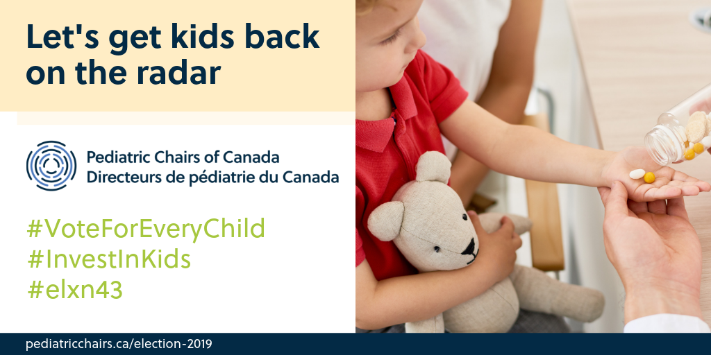 - Kids are not little adults. Having commercial, child friendly medication formulations available for pediatric patients is vital. #StandUpForKids and #InvestInKids by creating a child friendly pharmacare strategy. #elxn43