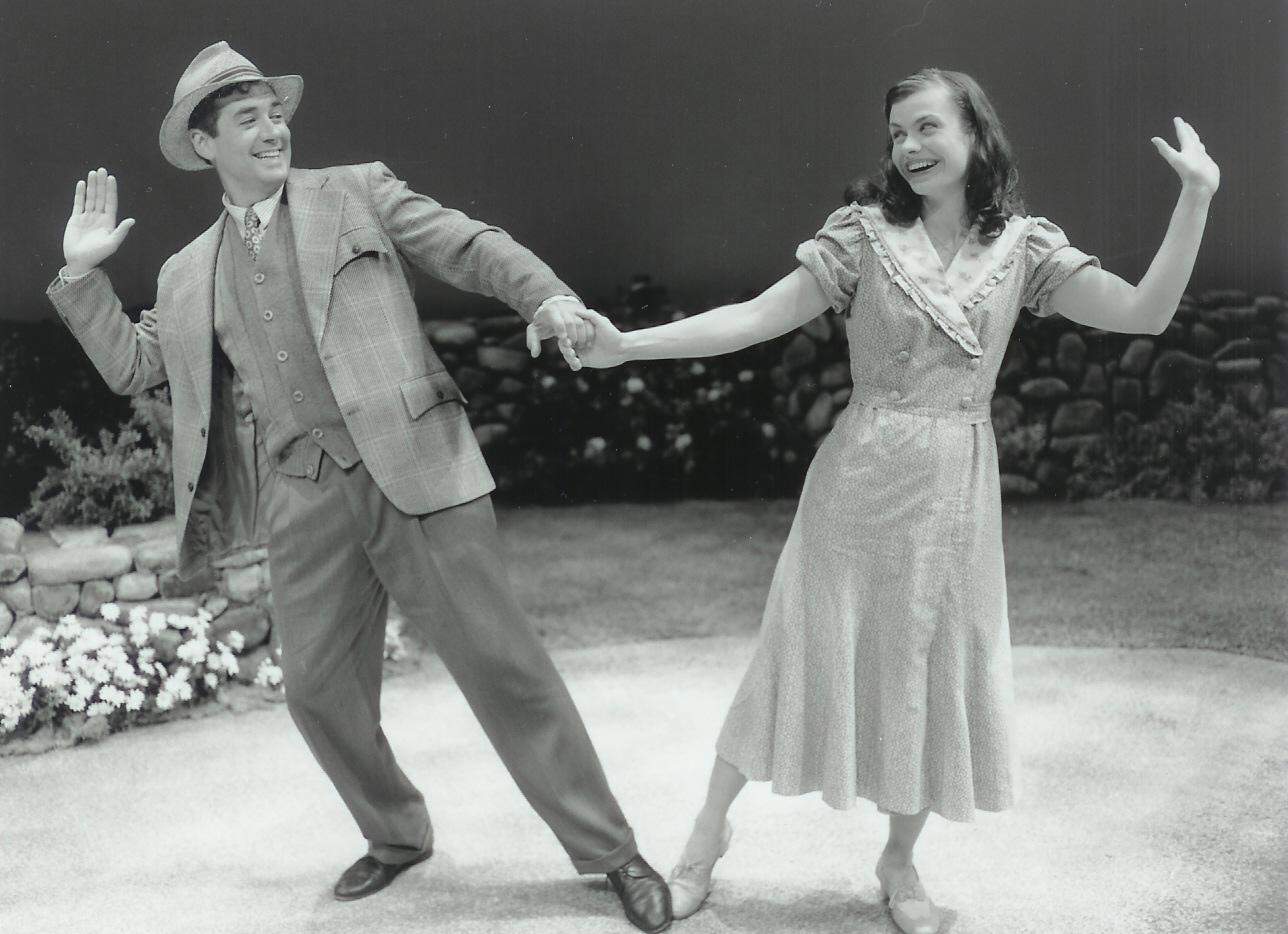 Christopher Howe and Robin Lewis-Bedz in Dancing at Lughnasa 2000-2001