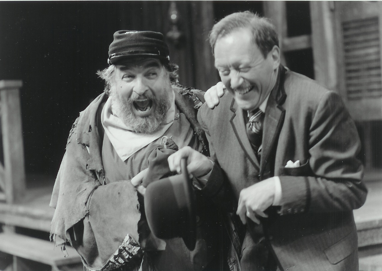David Regal and Robin Chadwick in The Merry wives of Windsor 1998-1999