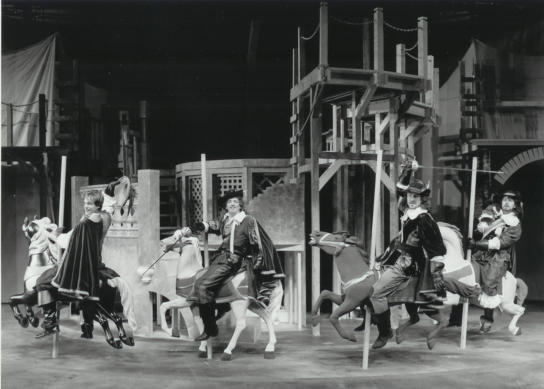 Timothy Altmeyer, Christopher Mixon, Matthew Loney and Richard A. Schrot The Three Musketeers 1995-1996