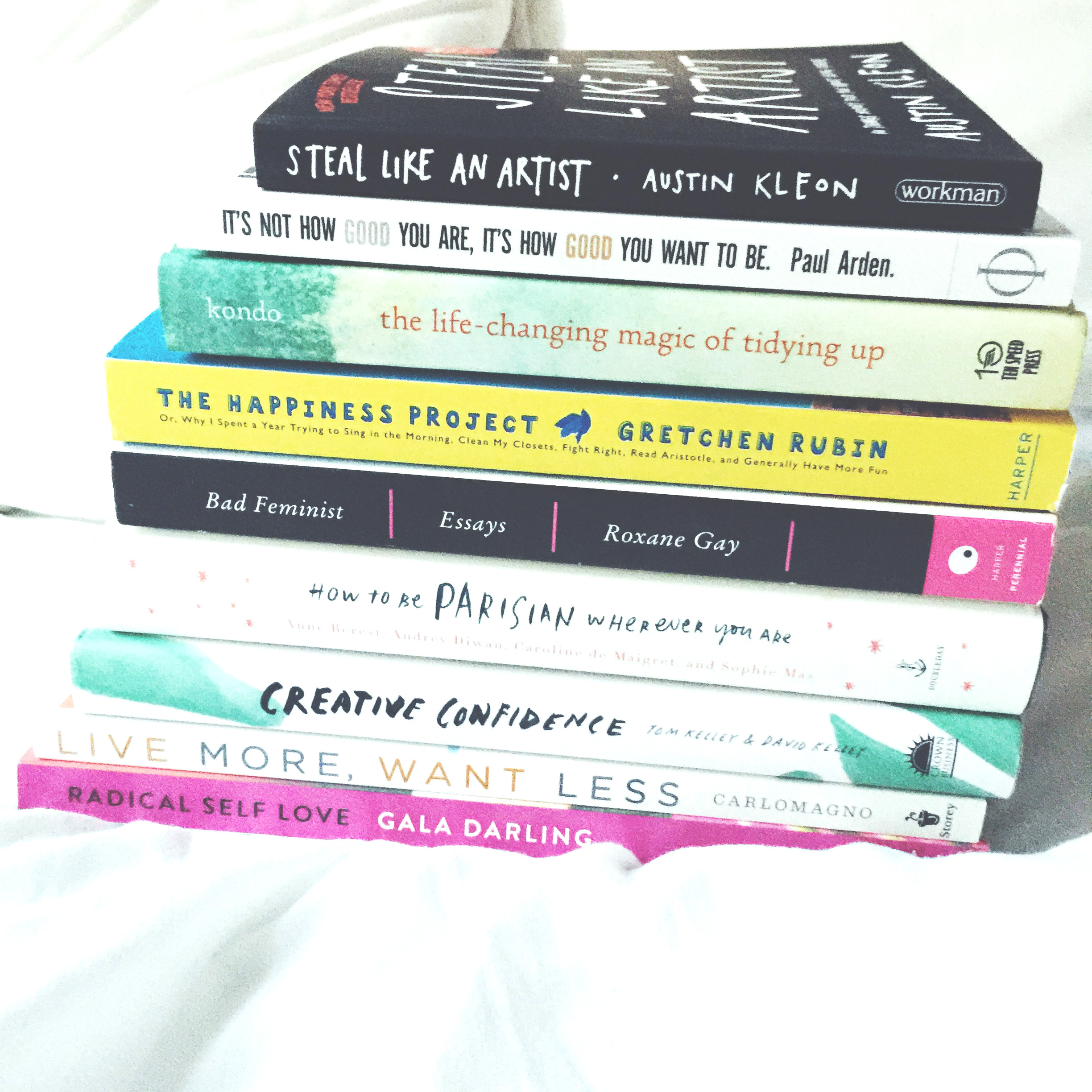 end-of-summer creative inspiration books