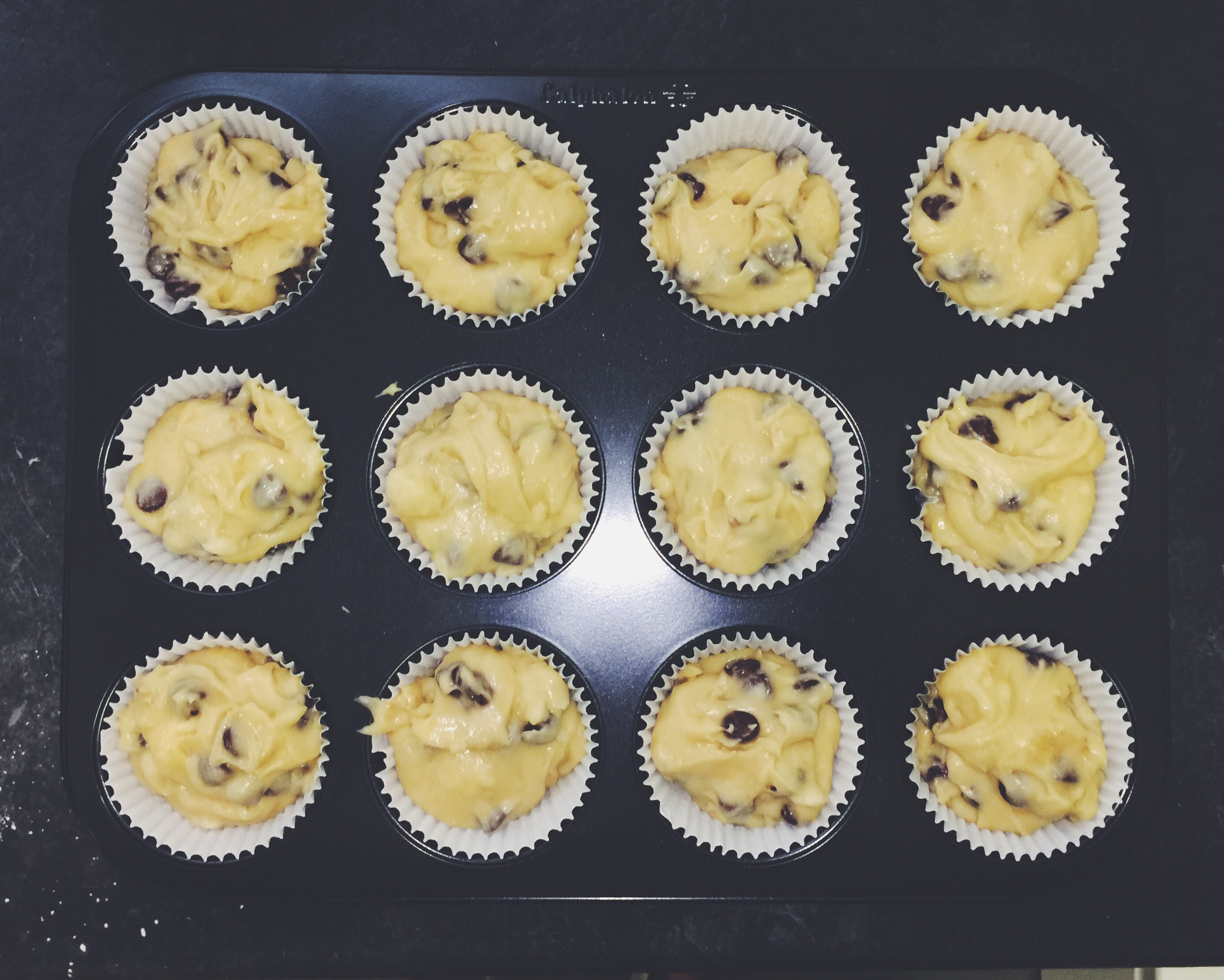 prepped muffins