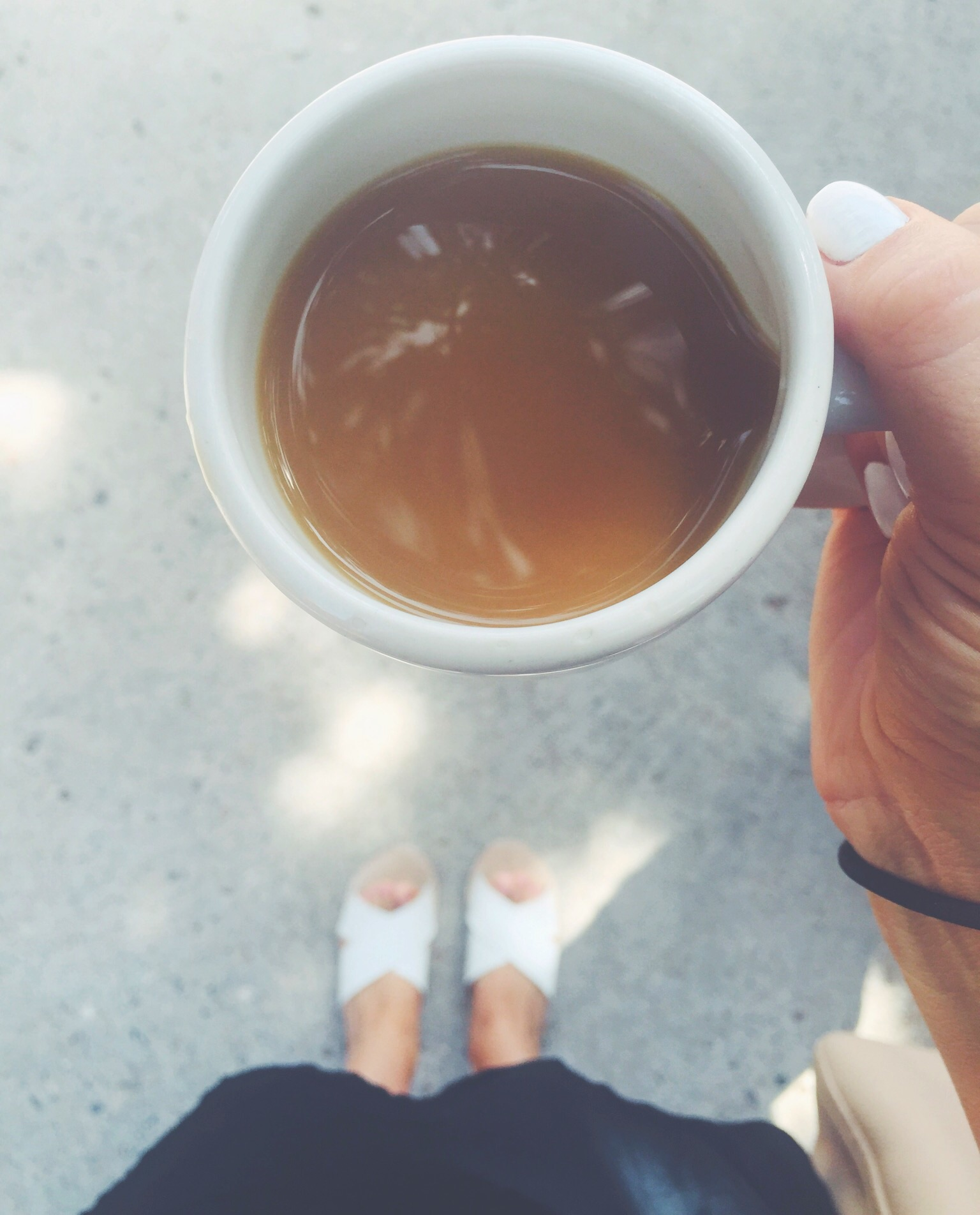 coffee + shoes