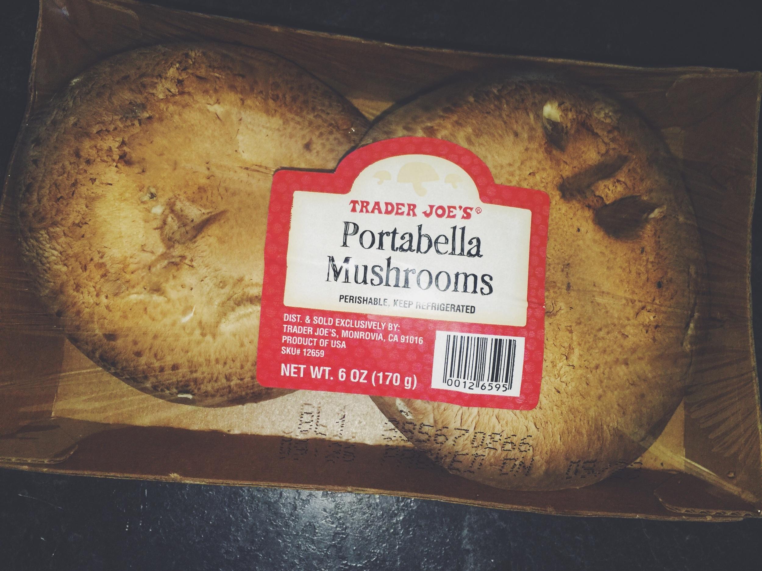 portabella mushrooms
