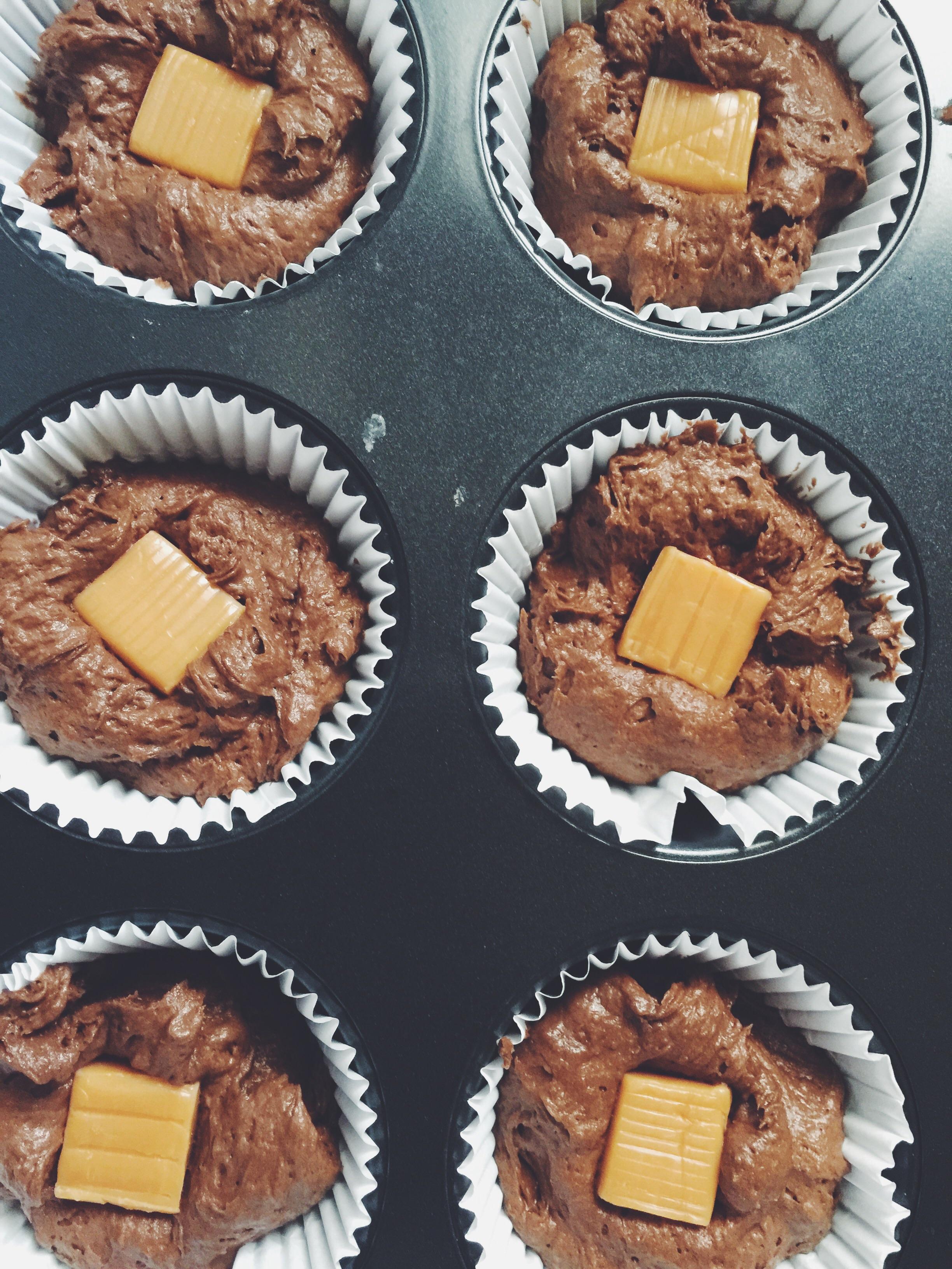 cupcake prep