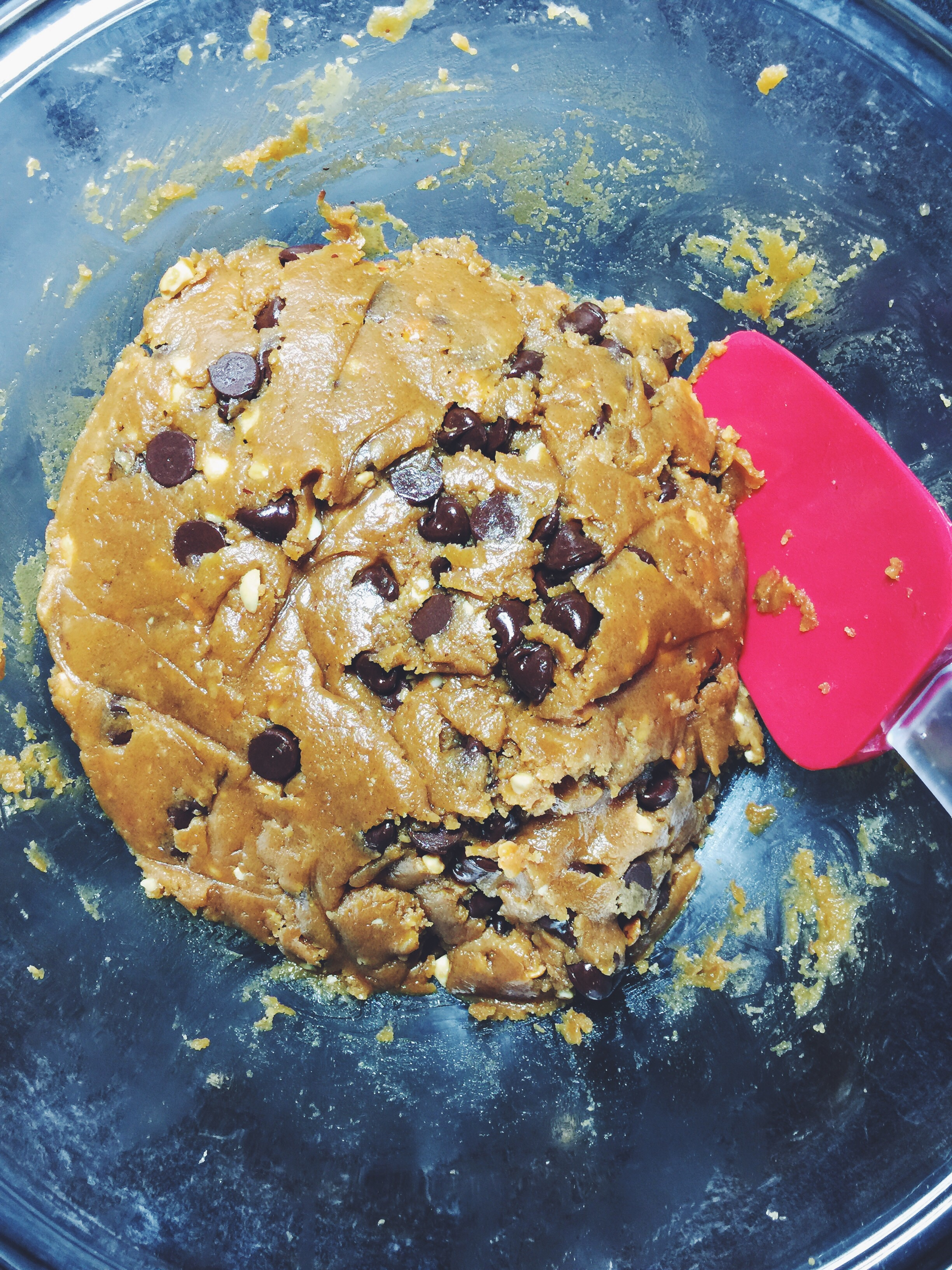 peanut butter chocolate chip cookie dough