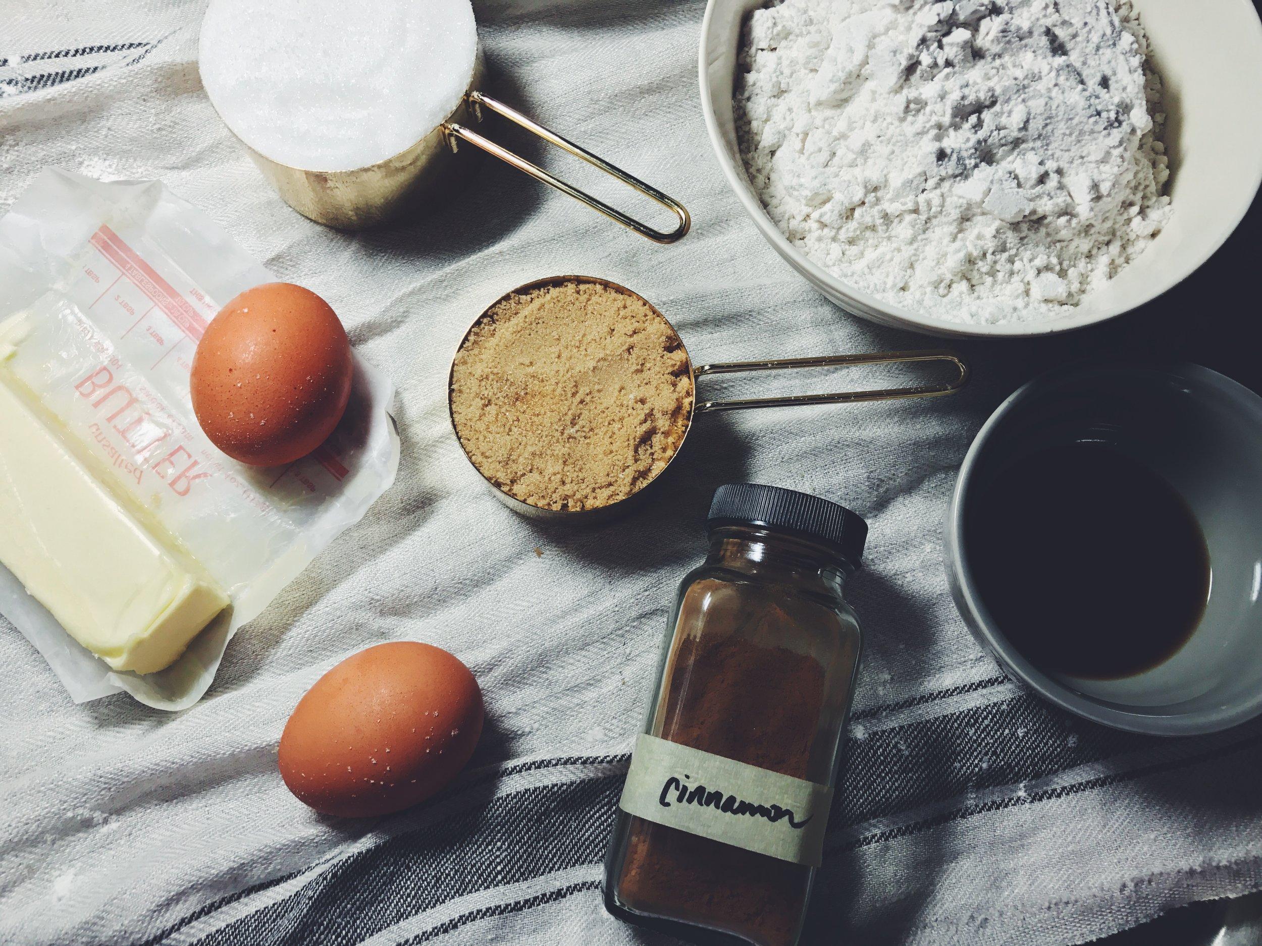 snickerdoodle blondie ingredients