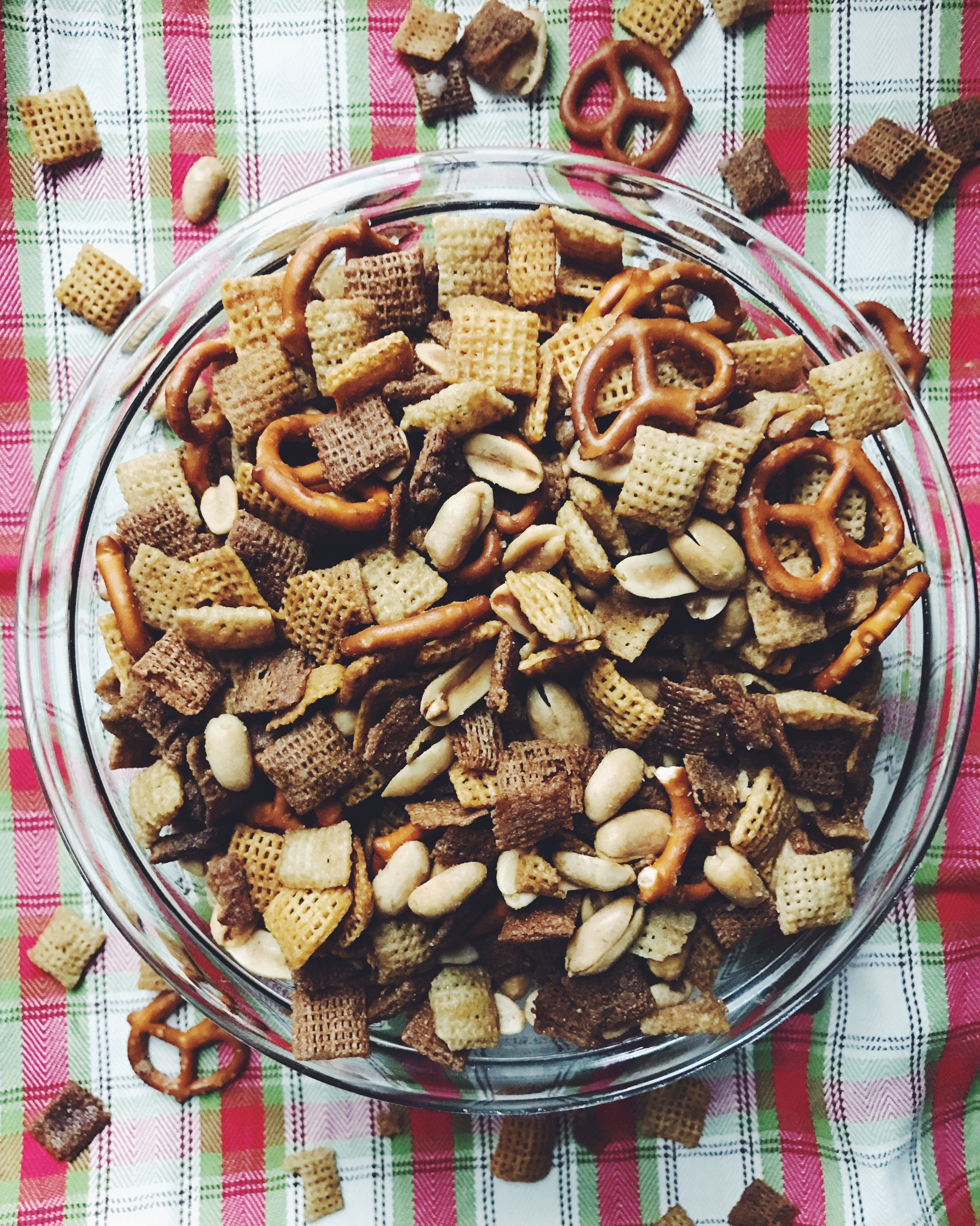 easy savory chex mix