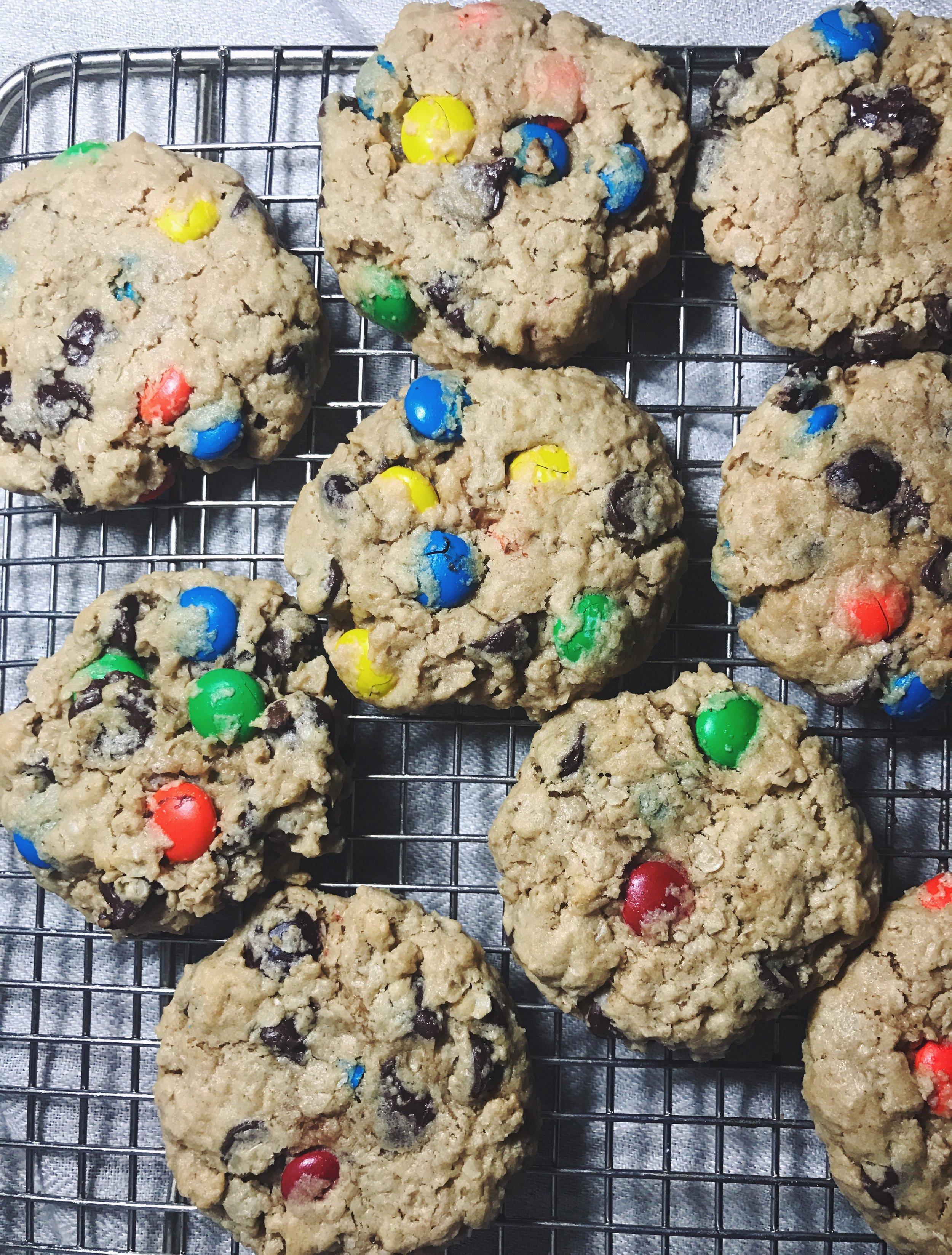easy monster cookies