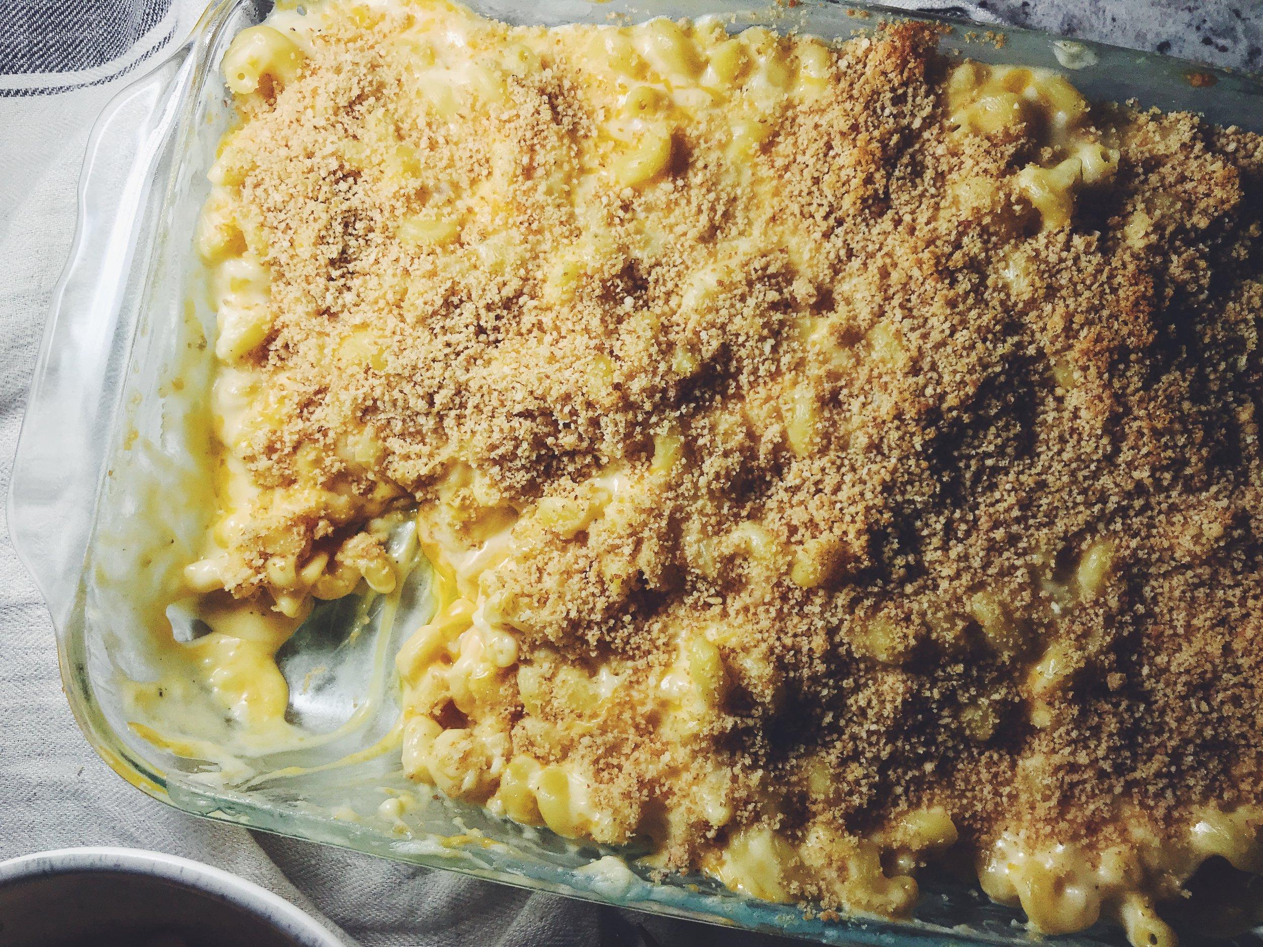 the cheesiest mac and cheese