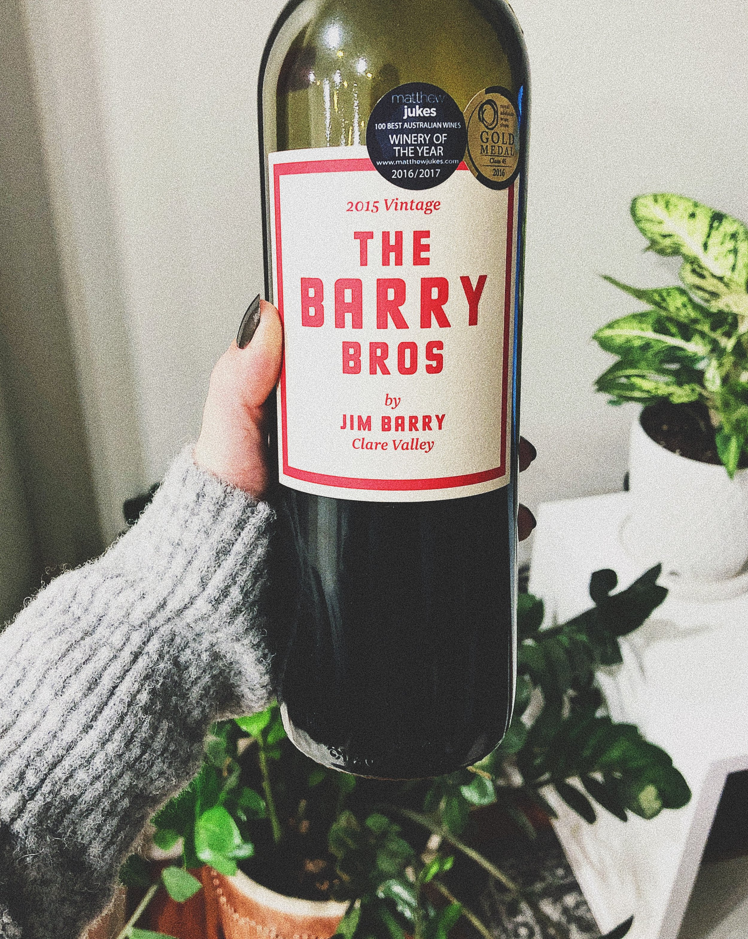 the barry bros red wine