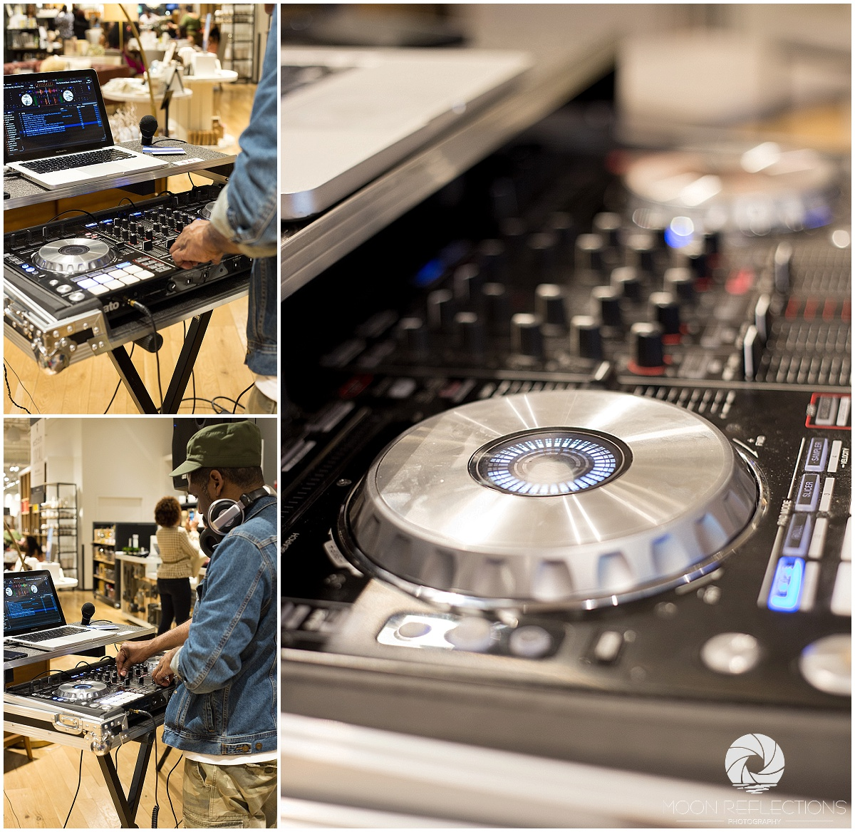The Cool DJ, Andre Terrell at West Elm with Pink Pump Event