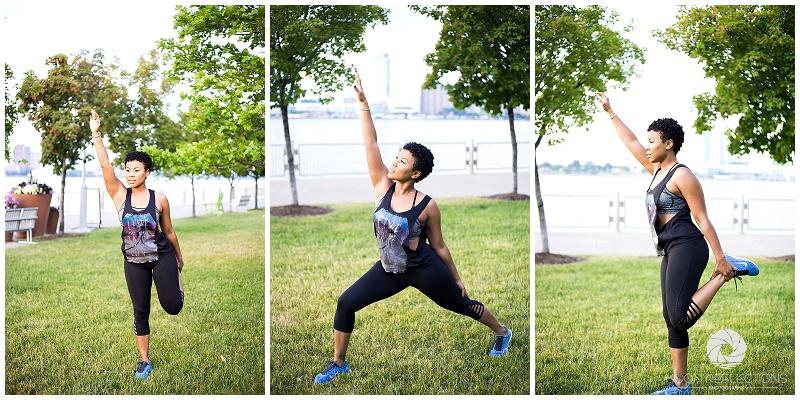 Like Water Fitness │ Detroit River Walk │ Personal Branding Session