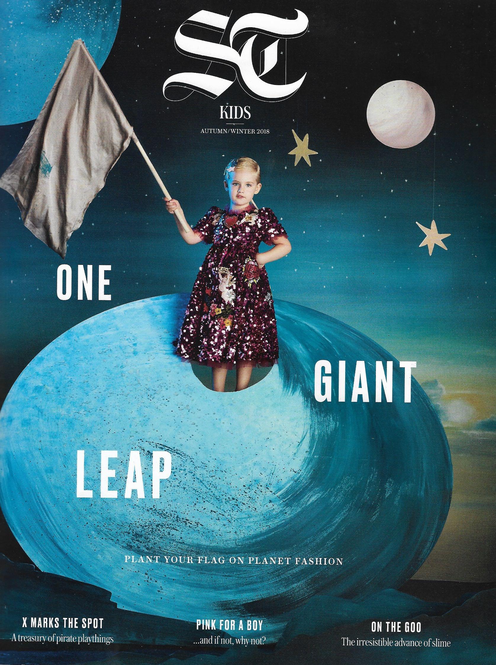 Sunday Telegraph Kids feat. Meri Meri on the cover