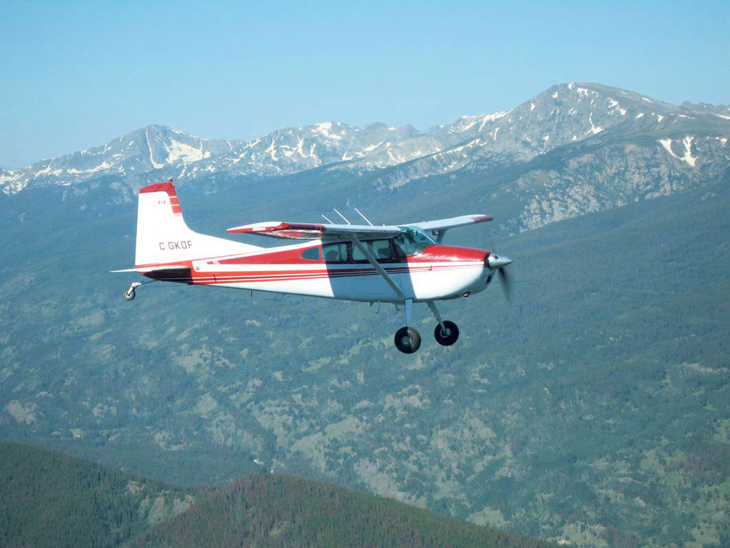 An example of the type of aircraft used for aerial monitoring of NCC. RANDY UMSCHEID