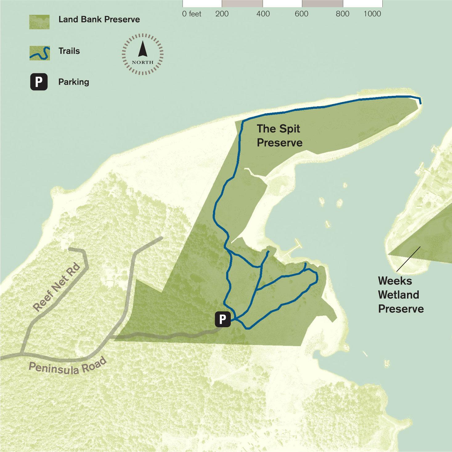 Fisherman Bay Preserve: The Spit. Image courtesy of    San Juan Land Bank Preserve   .