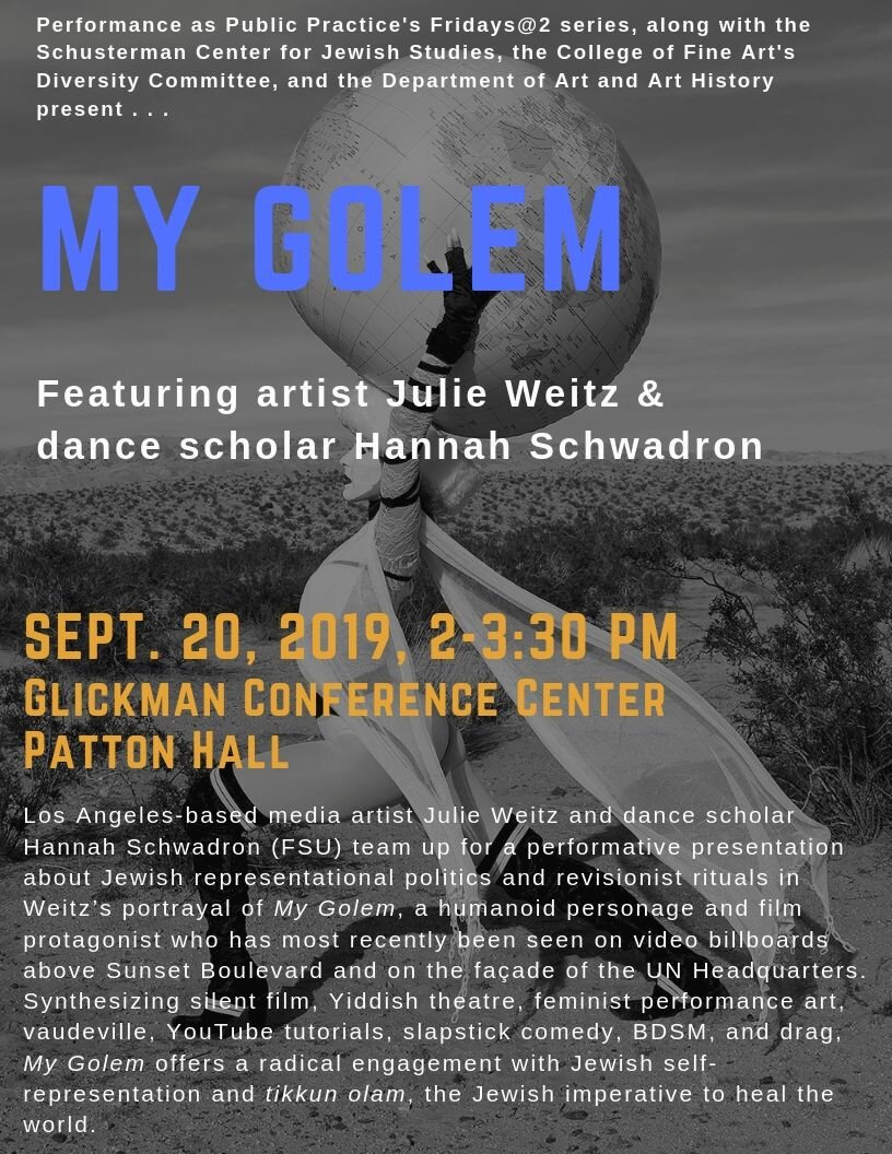 Collaborative Performance Presentation, University of Texas at Austin, September 2019