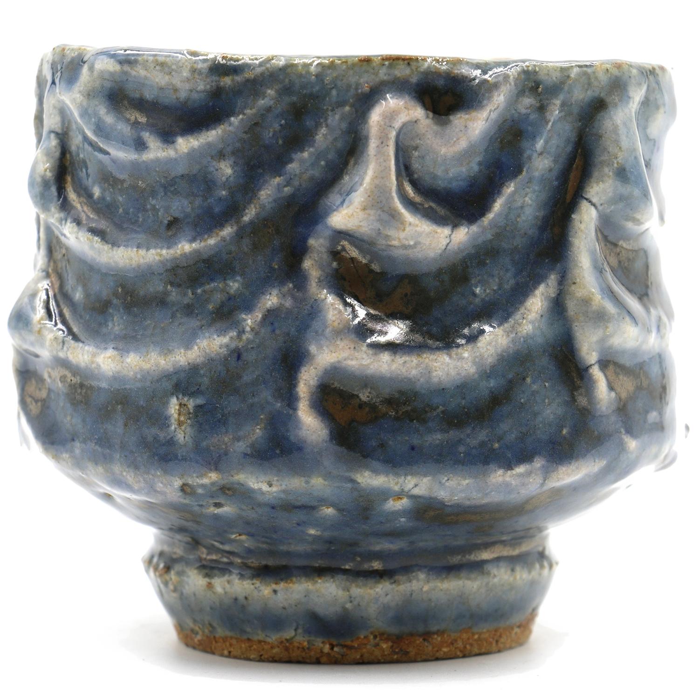 Kawai Kanjiro   Tea Bowl with Signed/Sealed Box  3.25 x 3.5 x 3.5