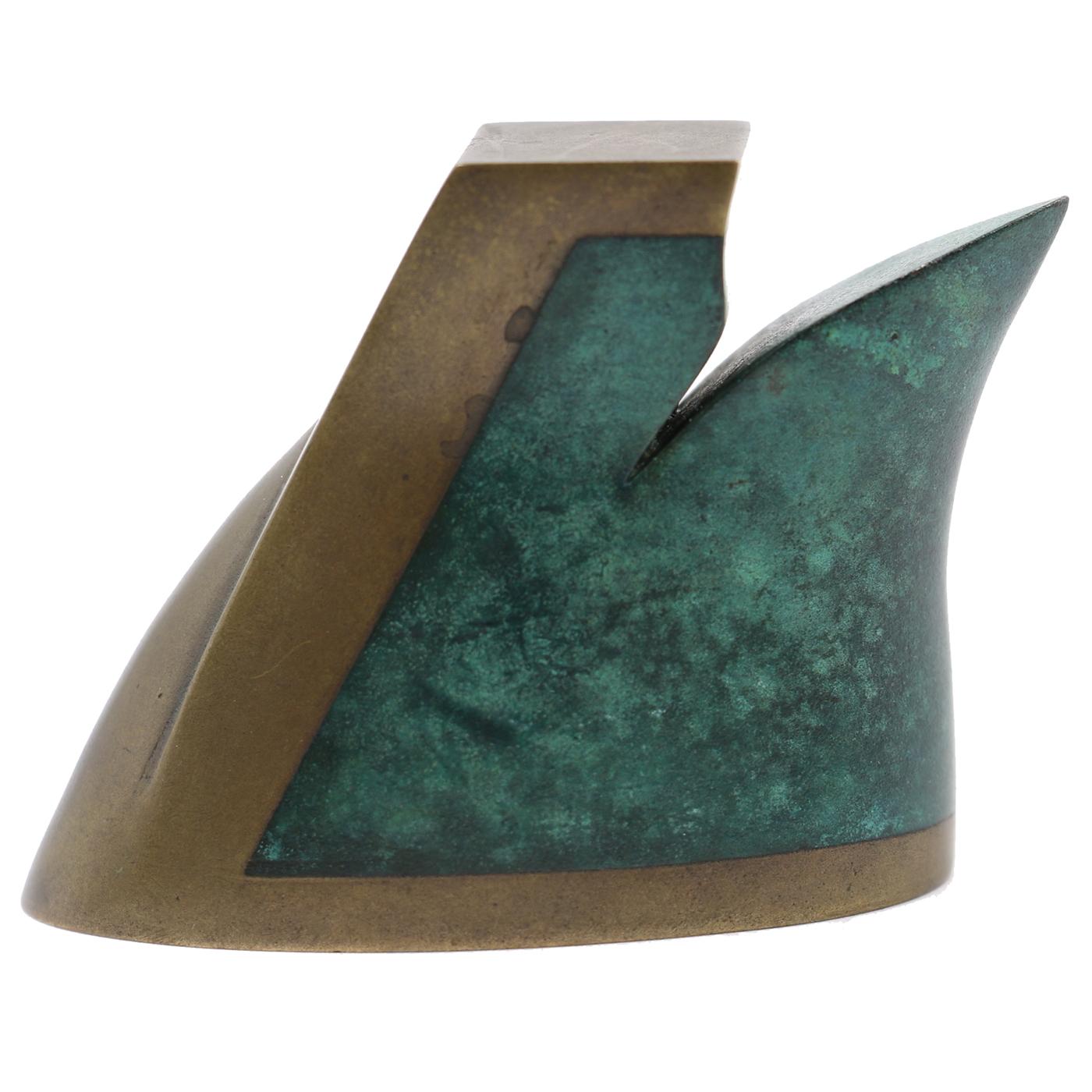 """Ron Nagle   Unique Bronze Sculpture  2.5 x 1.75 x 0.75"""""""
