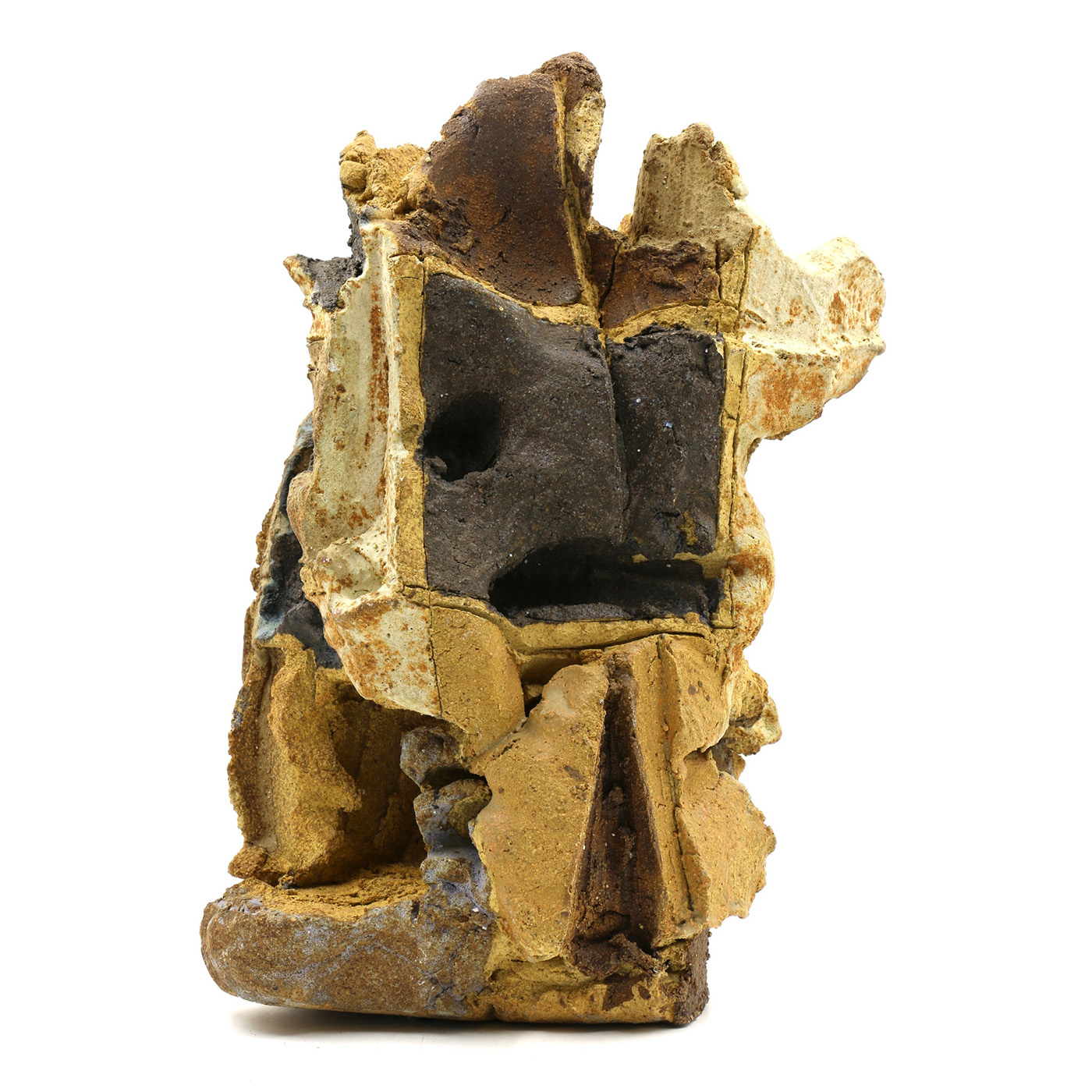 """Win Ng   Early 1960s Ceramic Sculpture  7 x 11 x 5"""""""