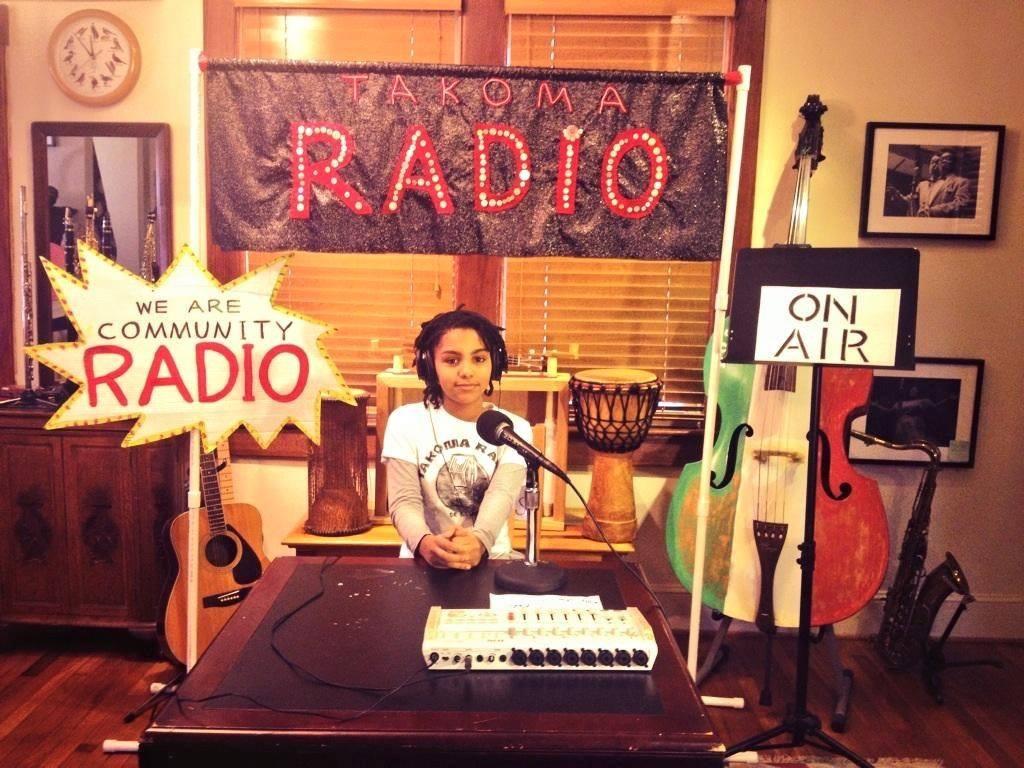 Takoma Radio   Local, low power FM   About