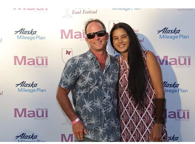 Had a wonderful time at the Kapalua wine and food festival!