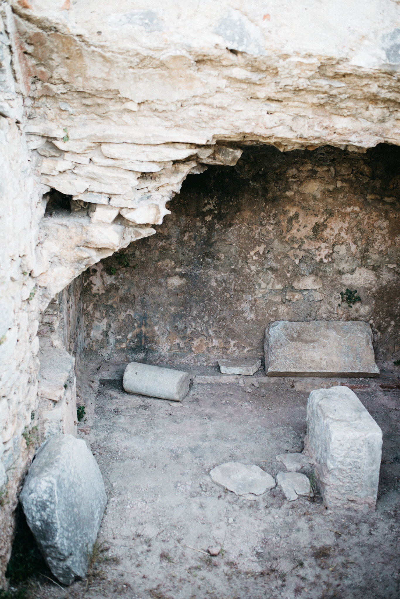 The traditional prison cell of Paul when he first visited Philippi (Acts 16:23-28)   As a result, it has become clear throughout the whole palace guard and to everyone else that I am in chains for Christ.  PHILIPPIANS 1:13