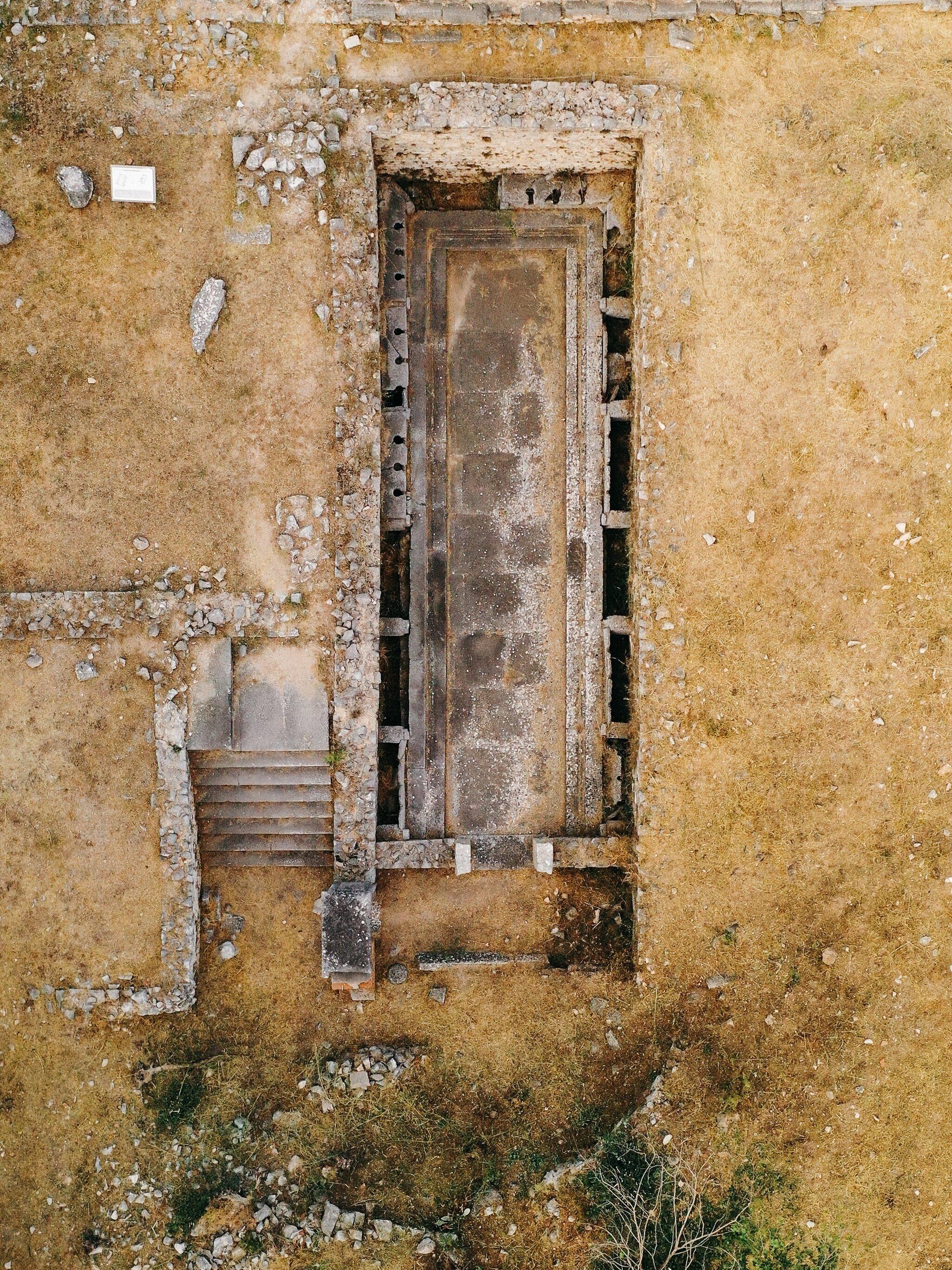 A latrine at the palaestra in Philippi