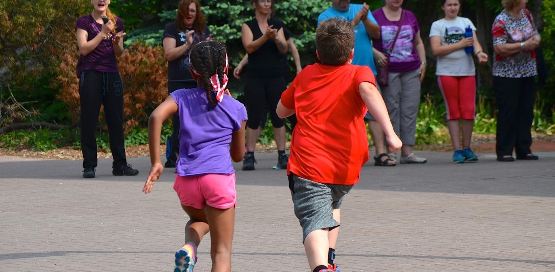 start2finish kids running