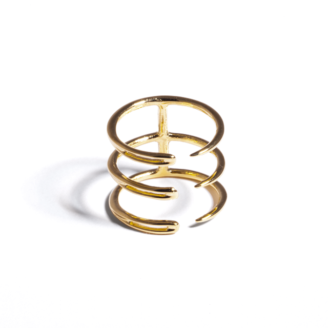 Brandy Pham Triple Needle Ring