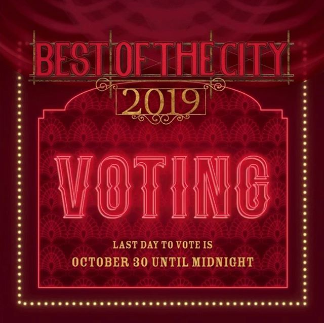 Hi everyone!! We were nominated by the City Magazine @thecityelpaso for best wings, best, burgers, and best lunch spot! Go vote! You have until October 30th!! Go to www.votebestofthecity.com and look through all the categories to vote! Thank you guys, we love you El Paso! This would be imposible without you 🥳❤️