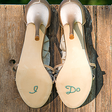 """I Do"" Shoe Talk Decals"