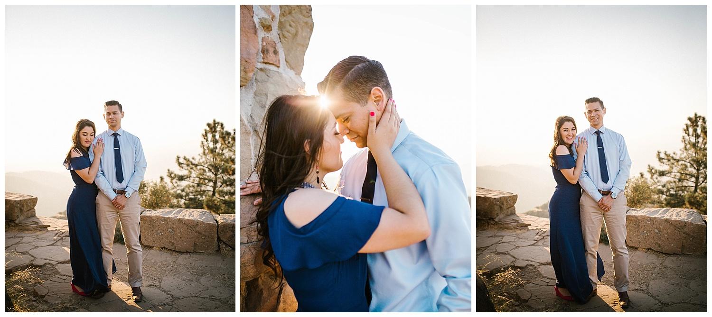 Santa Barbara Hilltop Engagement