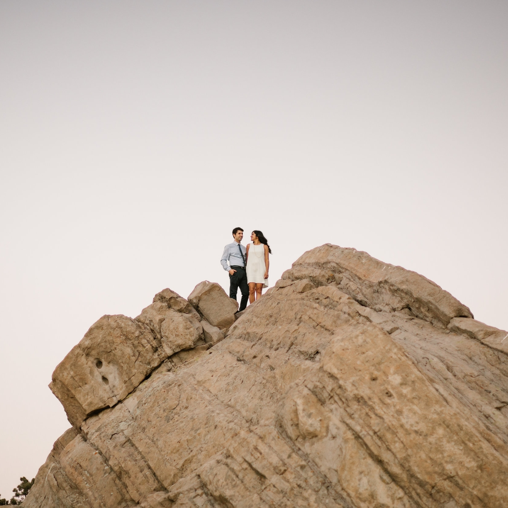 Vasquez Rock Engagement