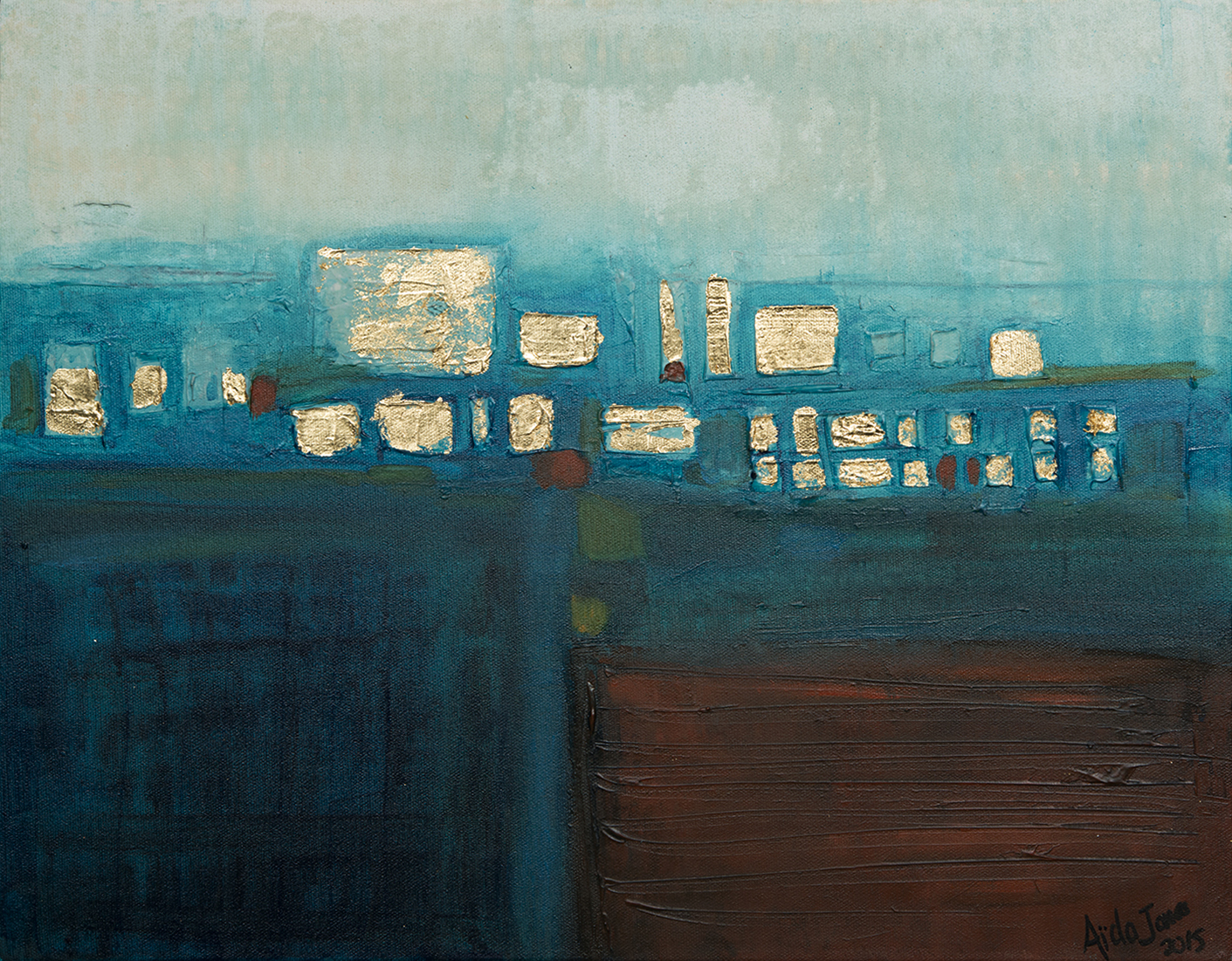Blue Scape (SOLD)