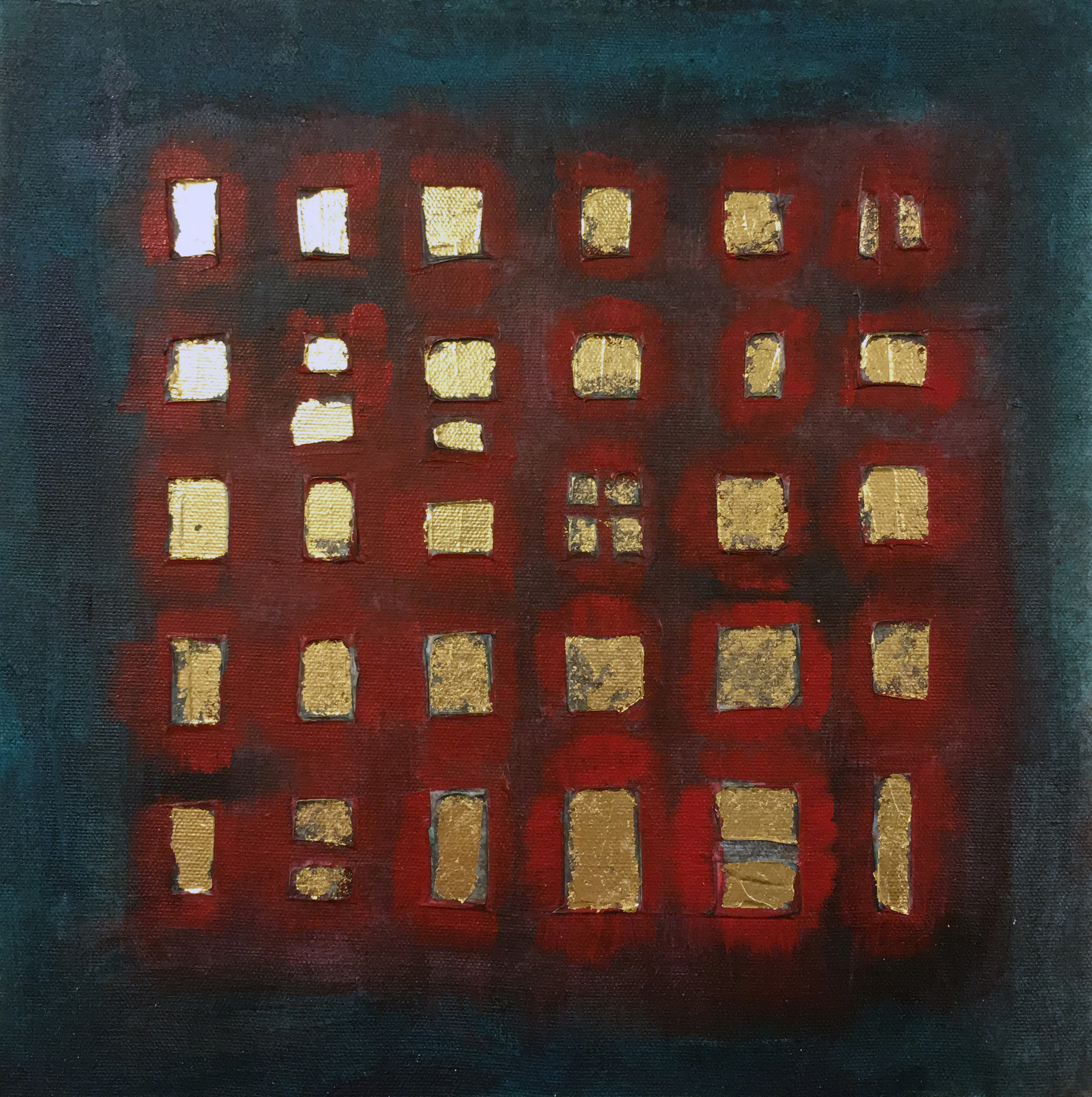 Mixed Media Grid (SOLD)