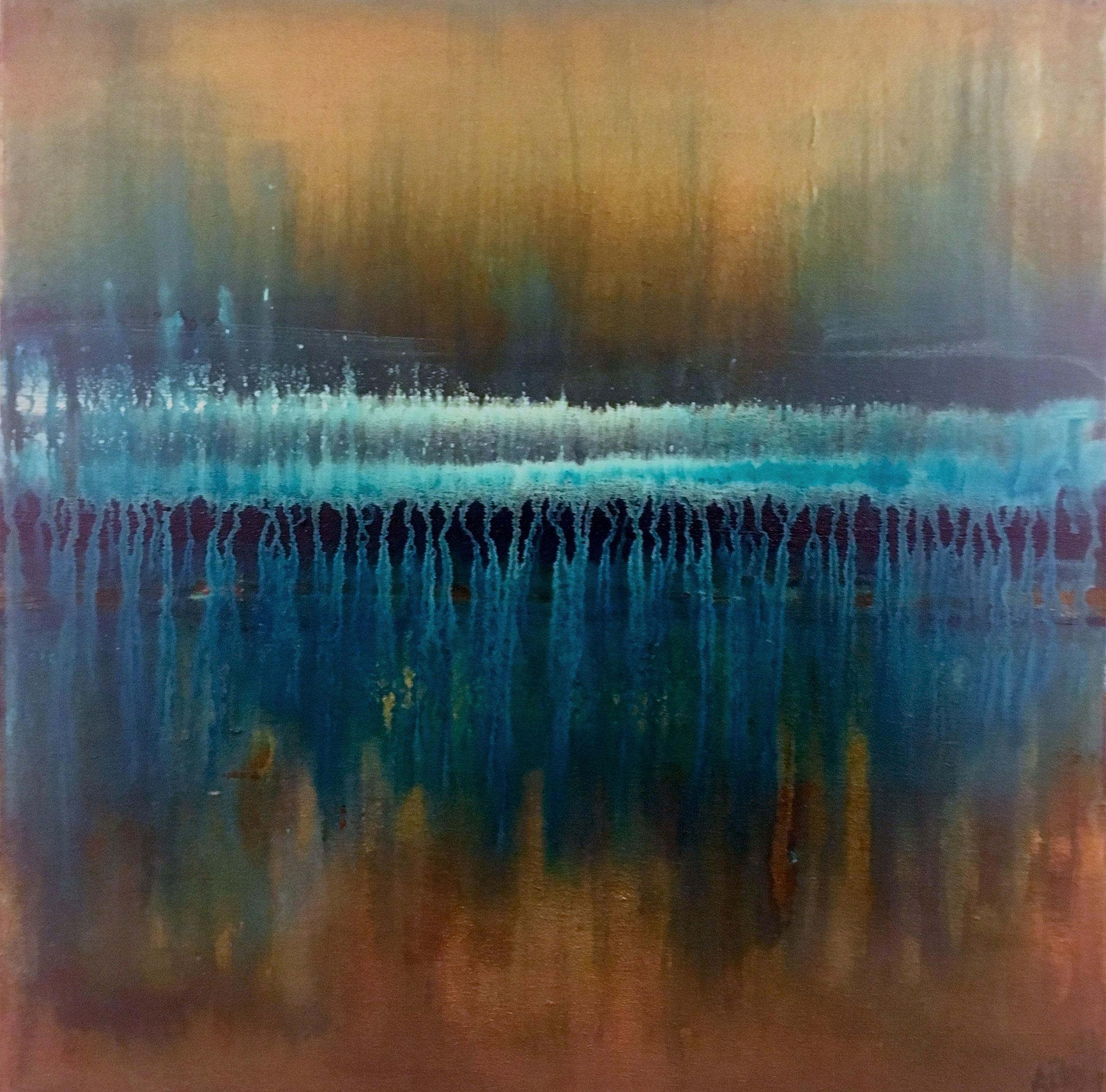 SOLD Mystic 20 x 20 Acrylic, Mixed Media on Canvas