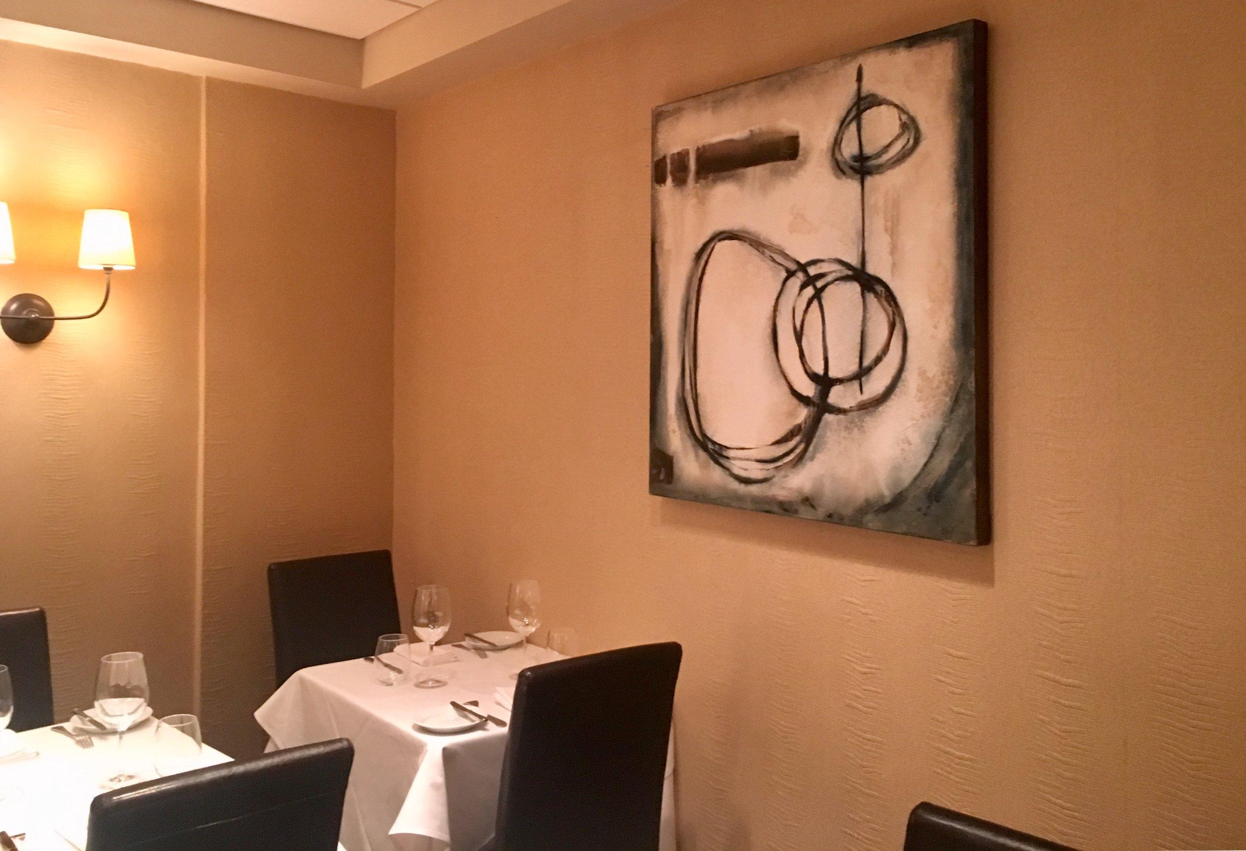 Installation 2019 at Restaurant Lorena's