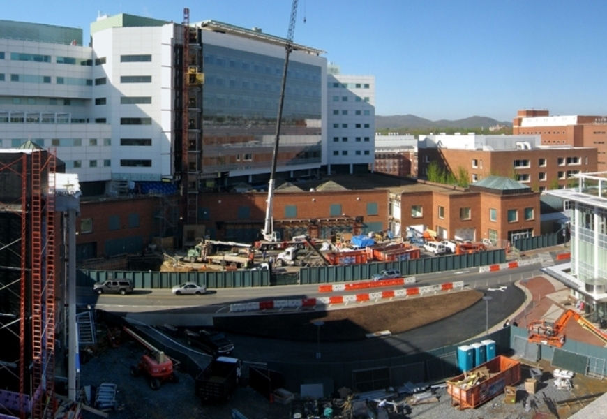 UNIVERSITY OF VIRGINIA HOSPITAL CENTRAL TOWER BED EXPANSION