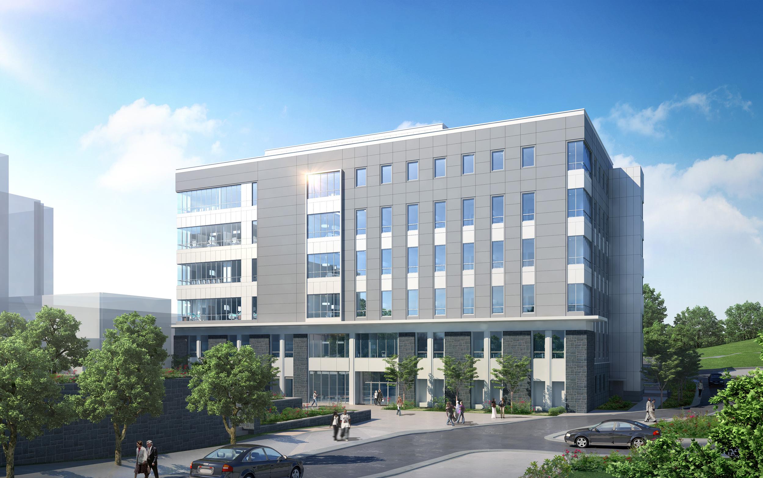 Harrisonburg, VA   147,000 square foot building  │ Average crew: 19  Estimated completion: 5/15/16
