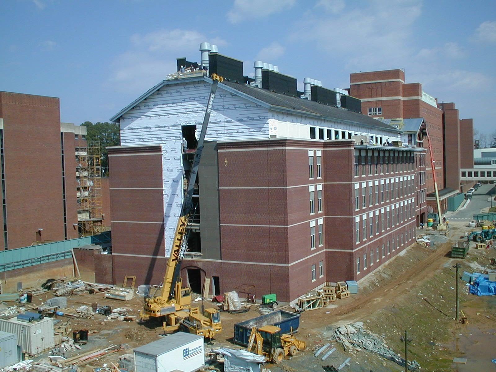 BRIDGEWATER COLLEGE SCIENCE BUILDING - MCKINNEY HALL