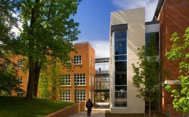 UNIVERSITY OF VIRGINIA MATERIALS SCIENCE ENGINEERING & NANOTECHNOLOGY BUILDING