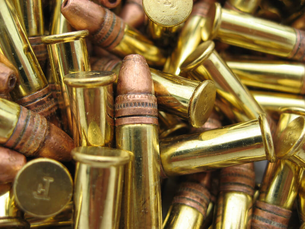 A pile of bullets.